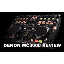 Denon Dj Dn-mc3000 Controladora Com O Virtual Dj Le