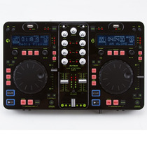 Controlador De Áudio Dj Tech Dual Usb Mp3 Player U2 Station