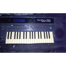 Controladora Midi Sampler Roland Dj70