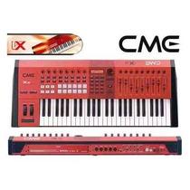 Cme Teclado Controlador Midi 49 Teclas Vx50 C/ Usb Bivolt