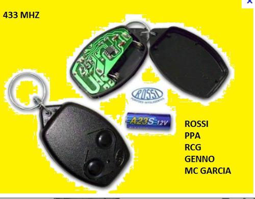 Controle Remoto De Portão Rossi Mc Garcia E Alarmes Genno
