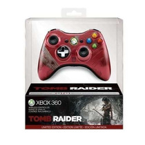 Controle Wireless Tomb Raider Limited Edition Para Xbox 360