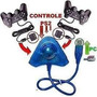 Adaptador Pc Conversor Usb P/ 2 Controles Play 2