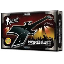 Joystick Guitarra Dreamgear Warbeast Ps3 E Ps2 Hero, Band