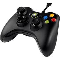 Controle Jogos Emulador Snes Computador Xbox 360 Cabo 2 Mts
