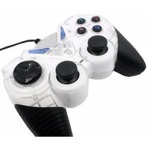 Computador Pc Usb Controle Dual Shock Joysticks Analogico