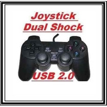 Joystick Usb Dual Shock Pc / Notebook