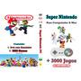 Dvd Super Nintendo Snes Para Computador + 3 Mil Jogos +capa