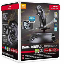 Joystick Manche Speedlink Dark Tornado Flight Stick Usb