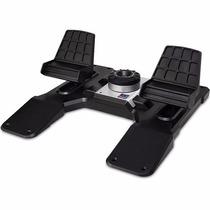 Joystick P/ Manche Pc Saitek Pro Flight Cessna Ruder Pedal !