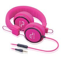 Fone De Ouvido Headphone Fun (rosa) Ph088- Multilaser