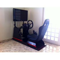 G 27 Logitech Cockpit Extreme Racing Completo Volante Lotse