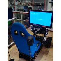 Cockpit Simulador Completo Com Volante G27 Pc Ps3