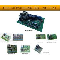Central Placa Comando Acton Para Portão Motor Rossi Dz3 Dz4