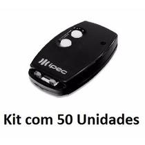 Kit 50 Controles Para Portões E Alarmes, Tx Flex 433mhz Ipec