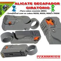 Alicate Descascador Decapador De Cabo Coaxial Rg6 / Rg59
