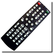 Controle Remoto Similar Dvd Lenoxx Rc-201b Dv-441 Dv-441b