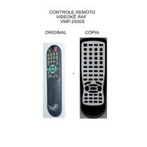 Controle Videoke Raf Electronics Vmp-2500 Vmp-2500s
