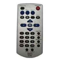 Controle Pra Dvd Gradiente Modelo D 203 X D 204
