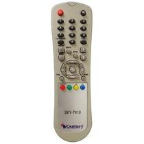 Controle Remoto Receptor Tv Digital Hdtv Century Dth1900 Hd