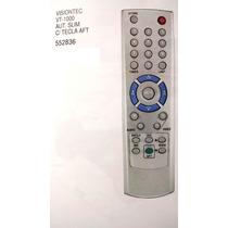Controle Remoto Para Receptores Visiontec Vt-1000 Aut. Slim