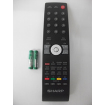 Controle Remoto Tv Sharp Lcd Lc42sv32b Original (026-0606)