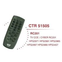 Controle Remoto Tv Cce Cyber Rc201 Hps2971 Hps2991 E Outros