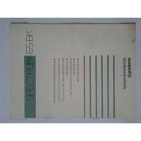 Manual Original System Gradiente Spectrum 65bk