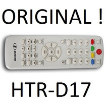 Controle Remoto Tv Lcd H-buster Htr-d17 Original ! Hbuster