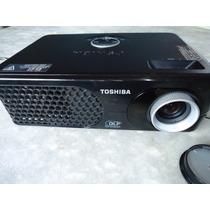 Projetor Datashow Toshiba Tdp Sp1 Dlp Ótima Imagem Projetada