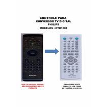 Controle Remoto Conversor Digital Philips Dtr-1007