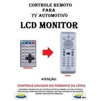 Controle Remoto Para Tv Automotiva Lcd Monitor /// Fbt 862