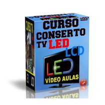 Curso Tv De Led + Tv Lcd Conserto E Como Usar As Ferramentas
