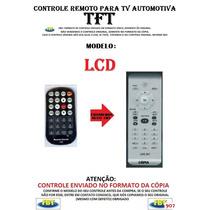 Controle Remoto Para Tv Lcd Automotiva Tft C/ Dvd