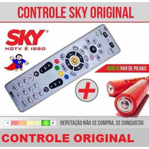 Controle Remoto Sky Hdtv Hd Original + Pilhas Pronta Entrega