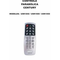 Controle Remoto Receptor Century Usr1850 Usr1900 Usr1950