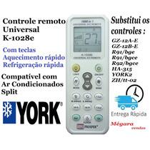 Controle Remoto Universal Ar Condicionado Split York
