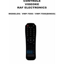 Controle Remoto Videoke Raf Electronics Vmp-7000 7500 Bingo