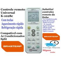 Controle Remoto Universal Ar Condicionado Split *brastemp*