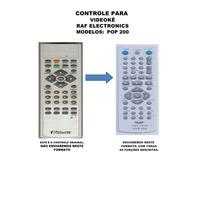 Controle Remoto Raf Electronics Pop 200