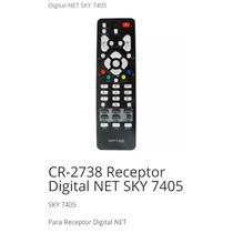 Controle Remoto Para Receptor Digital Net