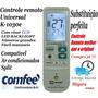 Controle Remoto Universal Ar Condicionado Split Comfee Novo