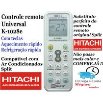 Controle Remoto Universal Ar Condicionado Split Hitachi