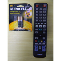 Controle Remoto Dvd Blu-ray Samsung + Pilhas Duracell Aaa