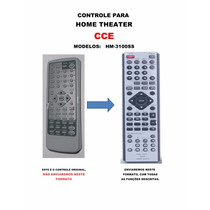 Controle Remoto Home Theater Cce Hm-3100ss Hm3100ss