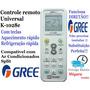 Controle Remoto Universal Ar Condicionado Split Gree