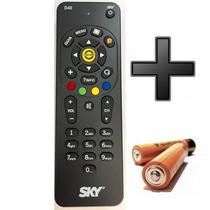 Controle Remoto S-k-y Z-apper Novo Original Universal+pilhas