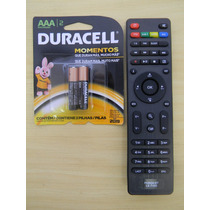 Controle Receptor P99hd Powernet + Pilhas Duracell Aaa