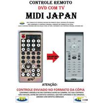 Controle Remoto Para Dvd Tv Midi Japan