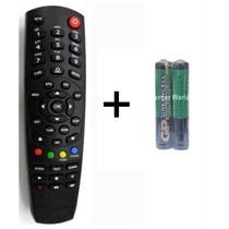 Controle Remoto Tocom-box Pfc Hd + Pilhas